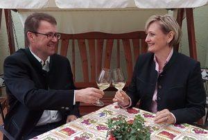 Gästehaus Marchegg: Bettina und Christian Ankowitsch