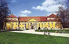 Das Schloss Marchegg